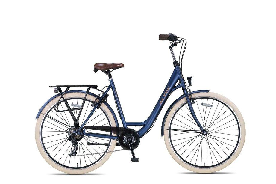 Altec Metro Damesfiets 28 inch 55cm Jeans Blue 7v