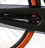 SALUTONI Excellent Stadsfiets - Unisex - 28 inch - 56 centimeter - Zwart - Shimano Nexus 3 versnellingen - 95% afgemonteerd