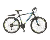 Umit Spartan 26 inch Mountainbike 21v Zwart Blauw