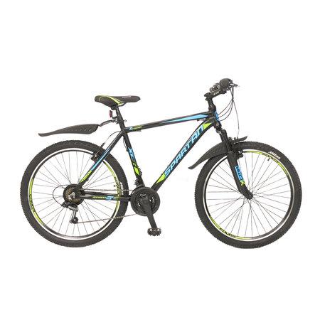 Umit Umit Spartan 26 inch Mountainbike 21v Zwart Blauw