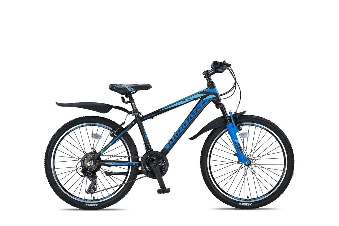 Umit Umit Mirage Mountainbike 24 inch 21v Zwart Blauw