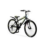 Umit Umit Faster Mountainbike 26 inch 21v Zwart Lime