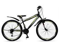 Umit Faster Mountainbike 26 inch 21v Zwart Lime
