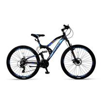 Umit Kratos Mountainbike 2D 26 inch 21v Zwart Blauw