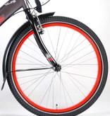Volare Thombike City Kinderfiets - Jongens - 24 inch - Grijs/Rood - Shimano Nexus 3 versnellingen