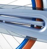 SALUTONI Excellent Stadsfiets - Vrouwen - 28 inch - 56 centimeter - Mat Blauw - Shimano Nexus 3 versnellingen - 95% afgemonteerd
