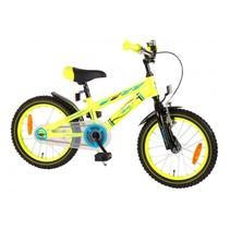 Volare Electric Neon Kinderfiets - Jongens - 16 inch - Geel