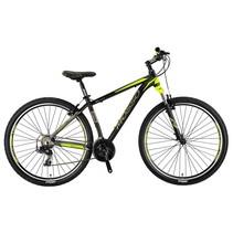Mosso Wildfire Mountainbike 29 inch 40cm 21v Zwart Lime