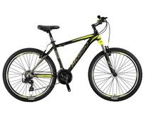 Mosso Wildfire Mountainbike 26 inch 47cm 21v Zwart Lime