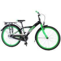 Volare Thombike City Kinderfiets - Jongens - 24 inch - Zwart/Groen