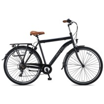 Altec Travel Herenfiets 28 inch 58cm Zwart 7v