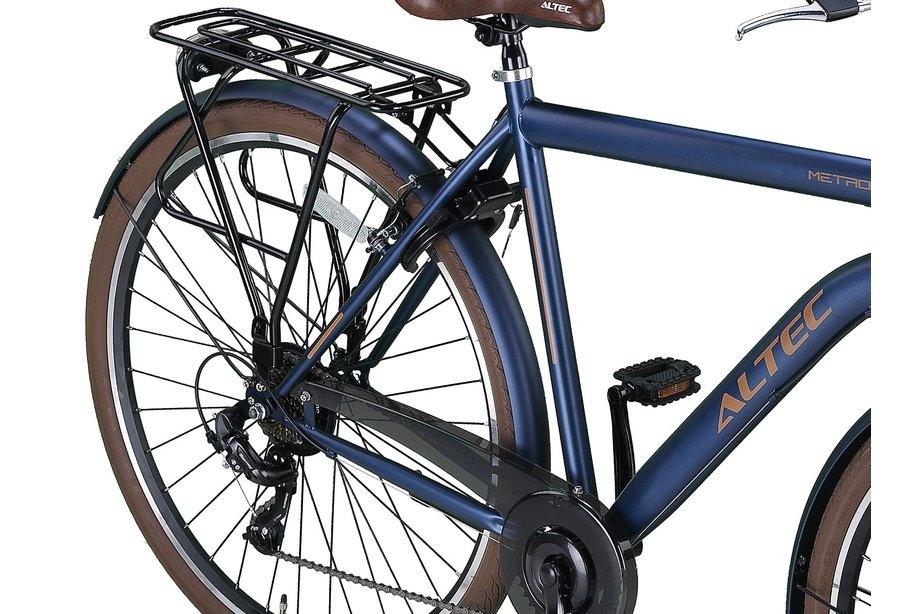 Altec Metro Herenfiets 28 inch 56 cm Jeans Blue 7v