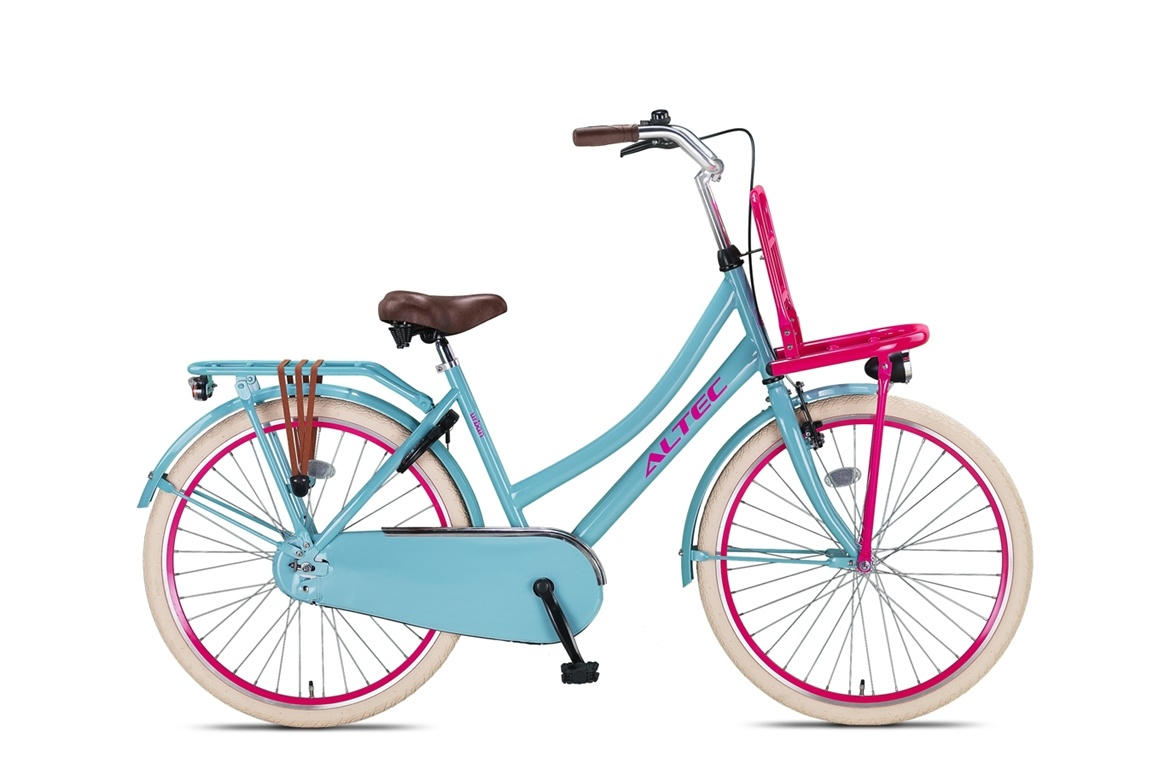 Altec Urban Transportfiets 26 inch Pinky Mint