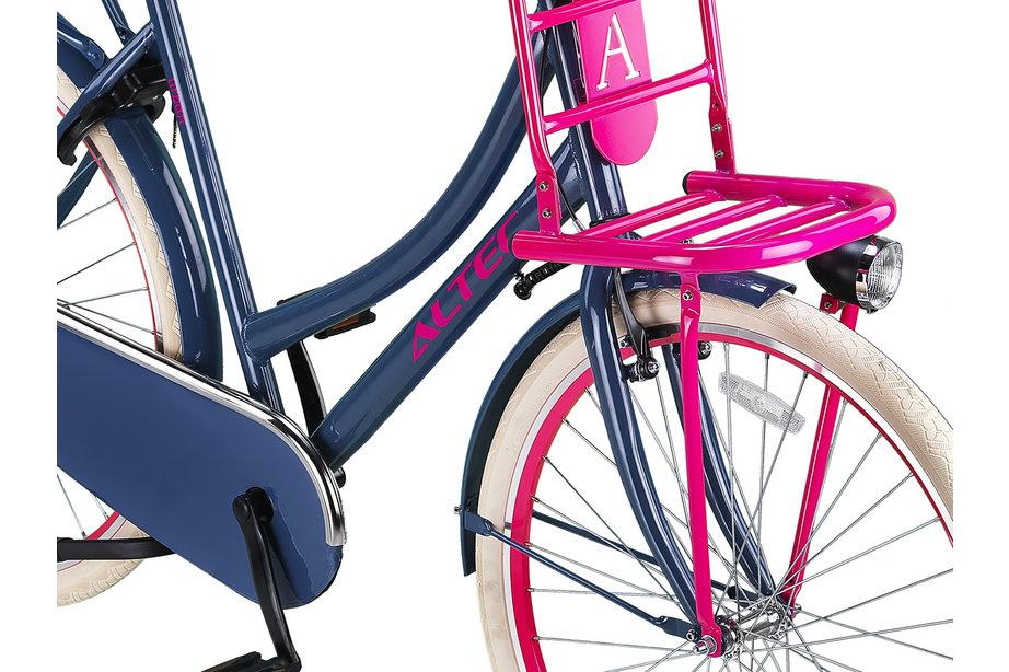 Altec Urban Transportfiets 28 inch 57cm Grijs Roze