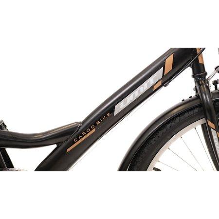 Umit Driewieler Senioren 24 inch 6v Zwart