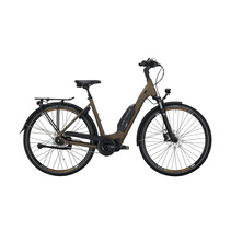 Victoria eTouring 7.6 Dames 50cm Pine Black Matt/Brown 8V