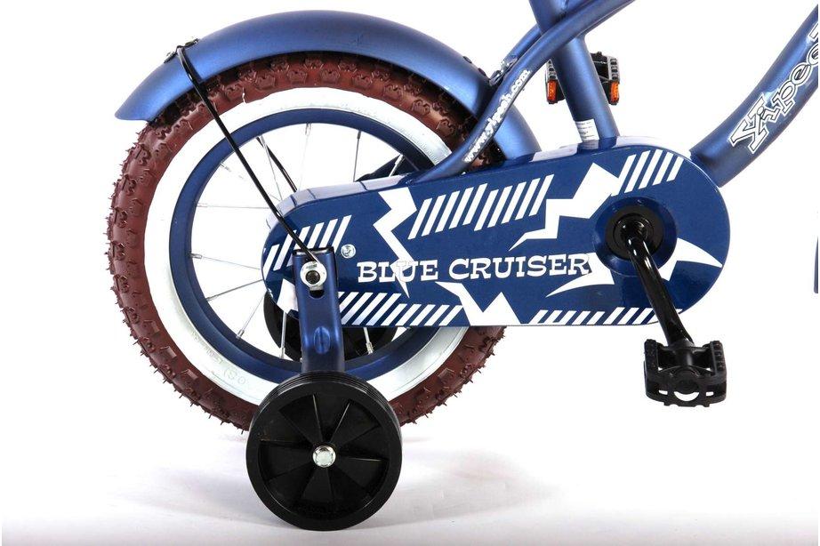 Volare Blue Cruiser 12 inch Jongens Blauw