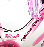 Volare Rose Kinderfiets - Meisjes - 12 inch - Roze - 2 handremmen