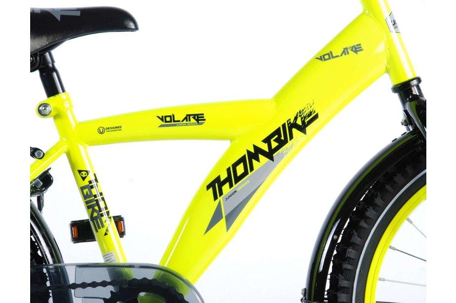 Volare Thombike City 20 inch Jongens Neon Geel