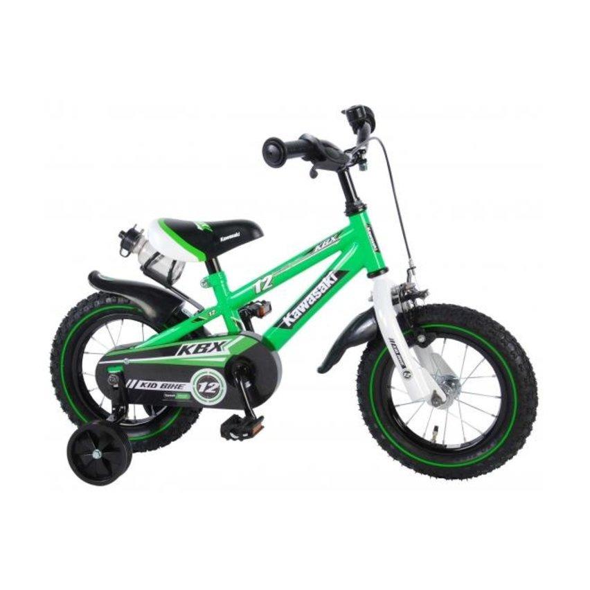 Kawasaki 12 inch Jongens Groen/Wit