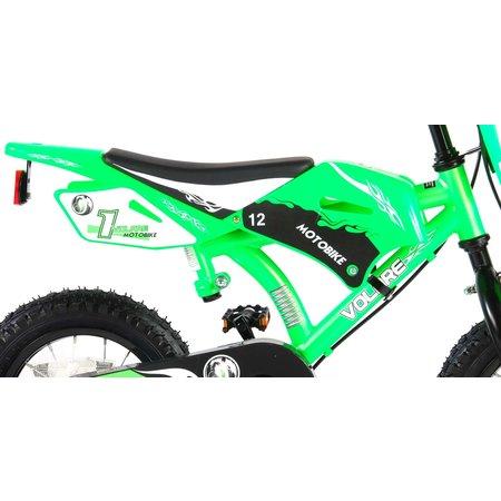 Volare Motorbike 12 inch Jongens Groen
