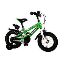 Kawasaki Kinderfiets 12 inch Jongens Groen/Wit