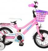 Volare Brilliant Kinderfiets - Meisjes - 12 inch - Roze - 95% afgemonteerd