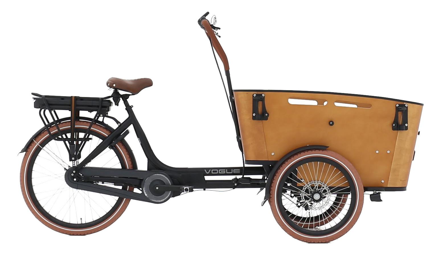 Vogue Carry 3 Dames 48cm Matt Black/Brown 7V online kopen