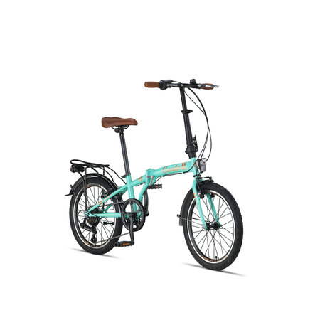 Umit Cunda Vouwfiets 20 inch 6v Turquoise