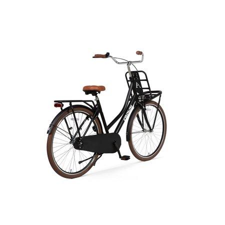 Crown Holland Transportfiets 28 inch 53cm Zwart