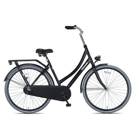 Crown Moscow Omafiets 28 inch 53cm Grijs