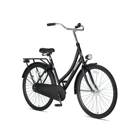 Crown Moscow Omafiets 28 inch 53cm Zwart