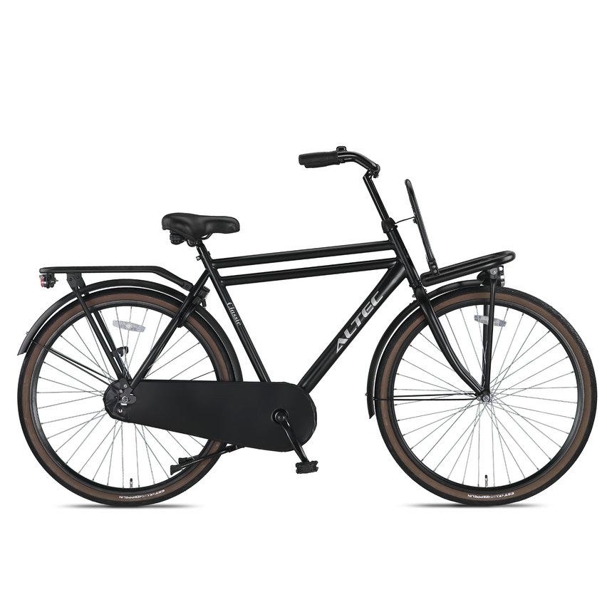 Altec Classic Transportfiets 28 inch Heren 58cm Zwart