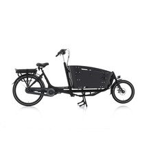 Vogue Carry 2 Bakfiets 48cm Matt Black/Black 7V