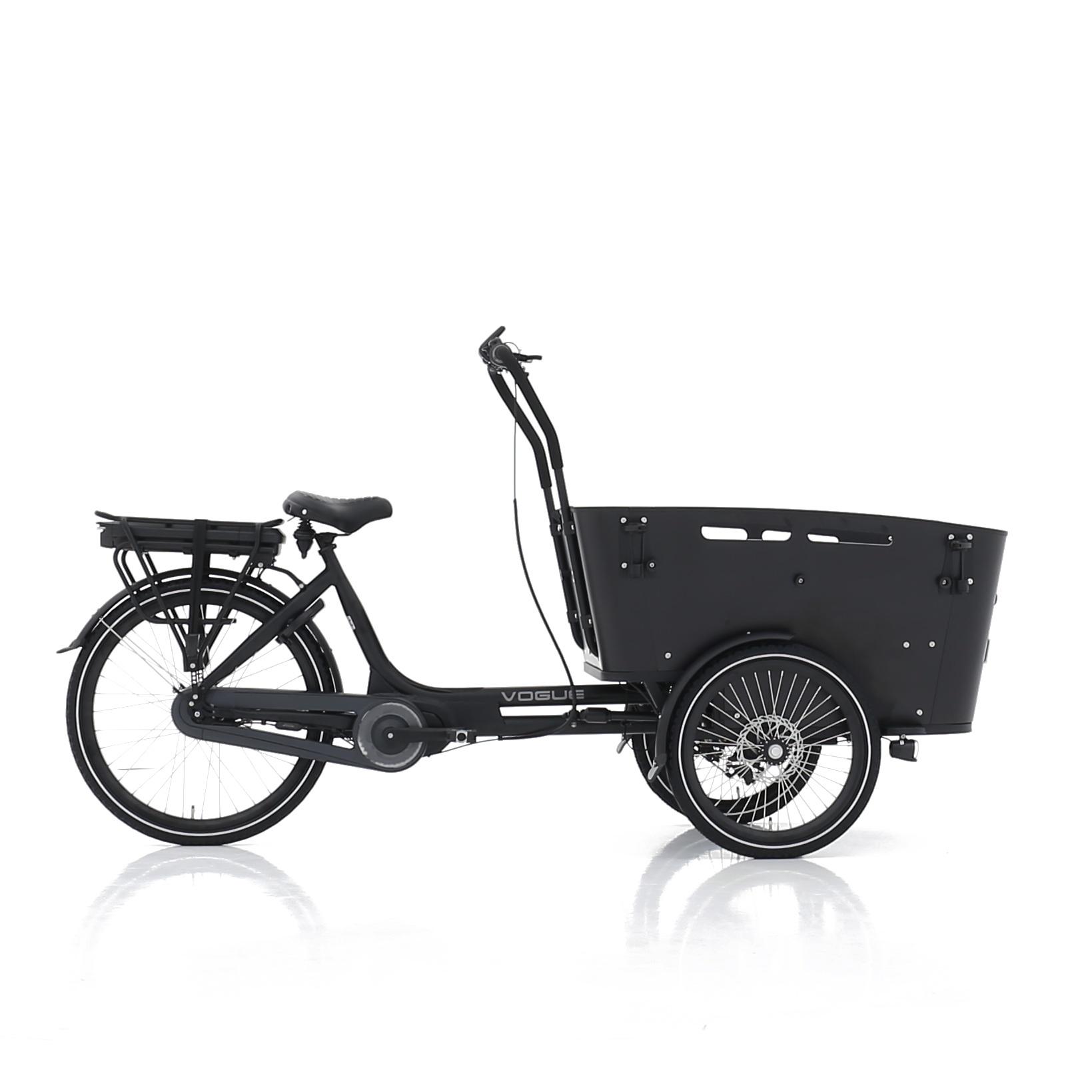 Vogue Carry 3 Bakfiets 49 cm Matt Black/Black 7V online kopen