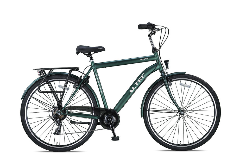 Altec Metro Herenfiets 28 inch 56 cm Army Green 7v
