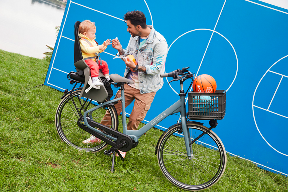 Wanneer met de baby op de fiets?