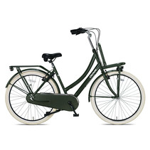 Outlet Crown Istanbul Transportfiets 28 inch N3 v-brakes Army Green