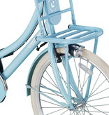 Outlet Crown Paris Transportfiets 28 inch v-brakes Sky Blue
