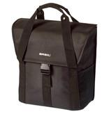 Basil tas Go solid zwart