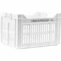 Urban Proof fietskrat 30 liter White Recycled