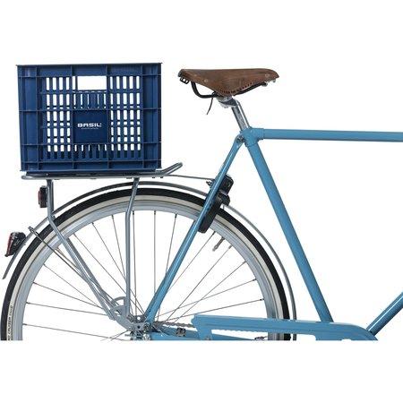 Basil fietskrat M medium bluestone