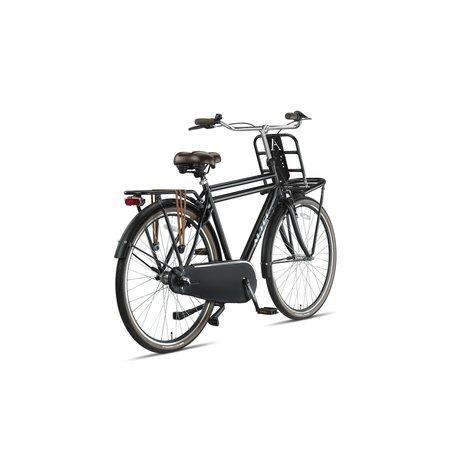 Altec Dutch 28inch Transportfiets Heren N-3 58cm Mat Zwart