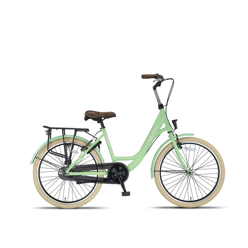 Altec Metro Meisjesfiets 24 inch 40cm Lime Green