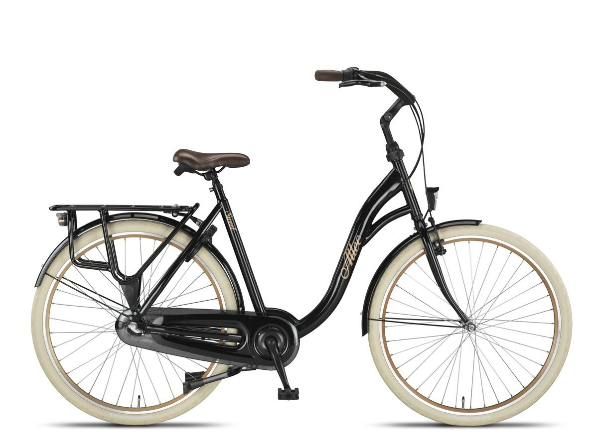 Altec Sweet Moederfiets 56 cm Shiny Black 3V