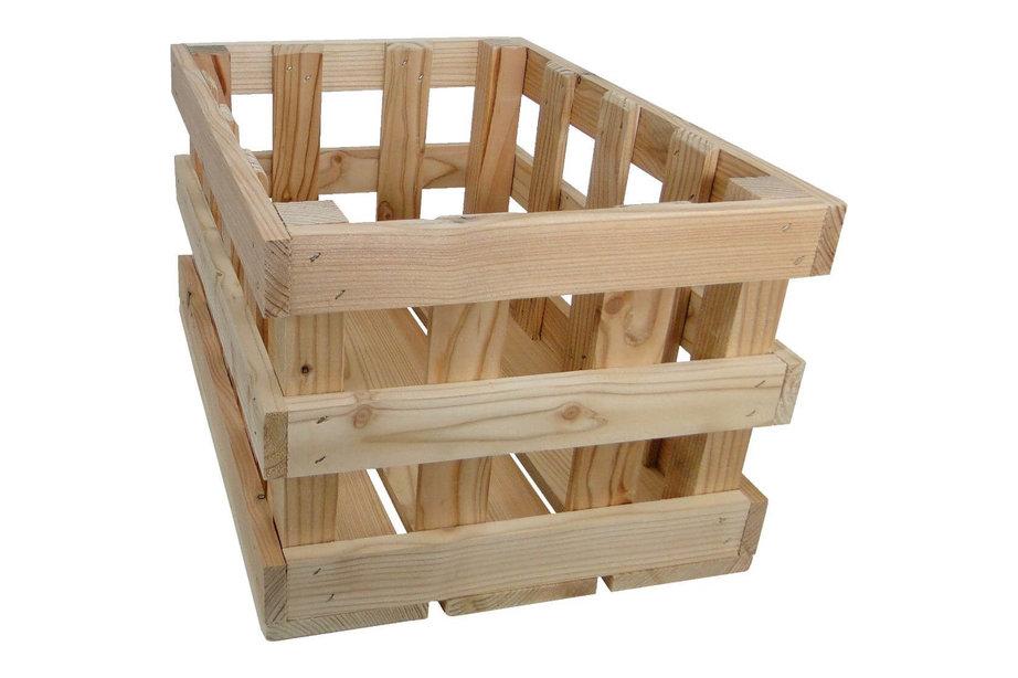 fietskrat houten raster