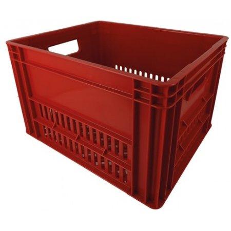 KERRI krat L rood, 43x35x27 cm