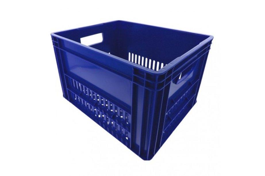 KERRI krat L Blauw, 43x35x27 cm