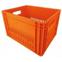 KERRI krat L Oranje, 43x35x27 cm