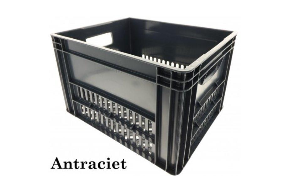 KERRI krat L Antraciet, 43x35x27 cm